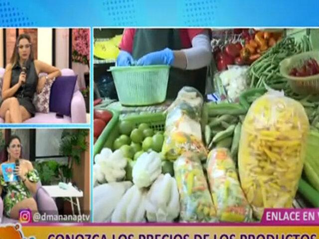 D´Mañana: conozca los precios de los productos de la canasta familiar en El Agustino