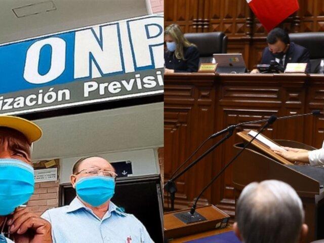 Ejecutivo planteará reforma integral de ONP y AFP, confirma premier Mirtha Vásquez