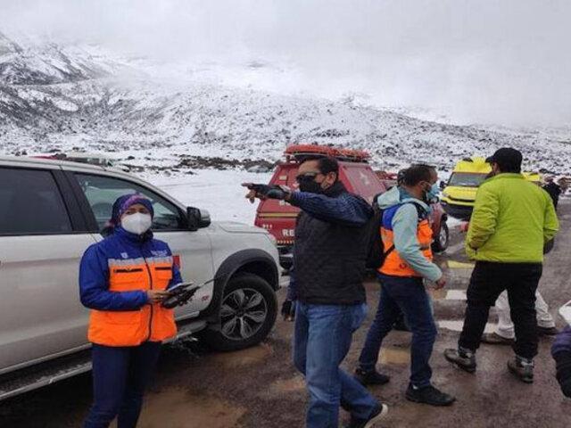 Ecuador: al menos cuatro muertos y un herido grave deja alud en volcán Chimborazo