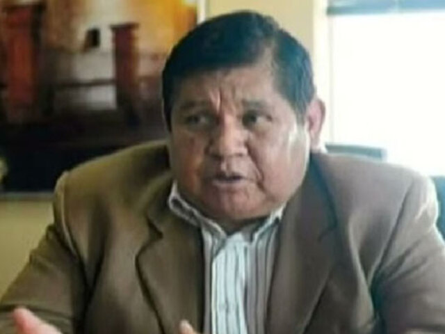 Tras detención de Elmer Cáceres, vicegobernador Walter Gutiérrez asumió  gobernación en Arequipa