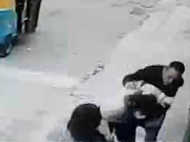 Capturan a delincuente que asaltó y golpeó a una mujer en San Juan de Miraflores