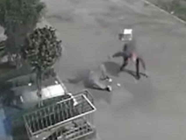 Santa Anita: sujeto fue baleado por un sicario mientras caminaba