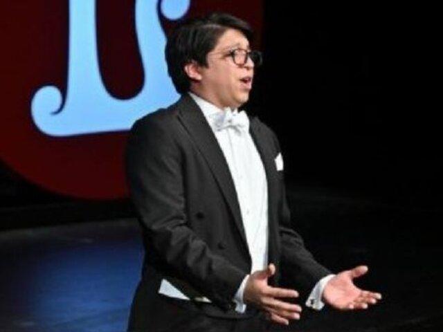 Iván Ayón-Rivas, tenor peruano fue el ganador de Operalia 2021