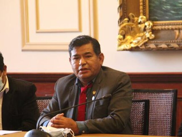 Restos del congresista Fernando Herrera serán llevados a Tacna, señala Guido Bellido