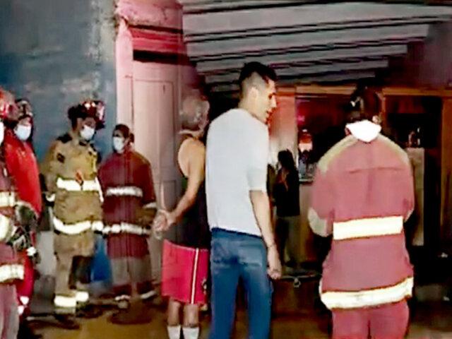 San Miguel: amago de incendio desata pánico en vivienda