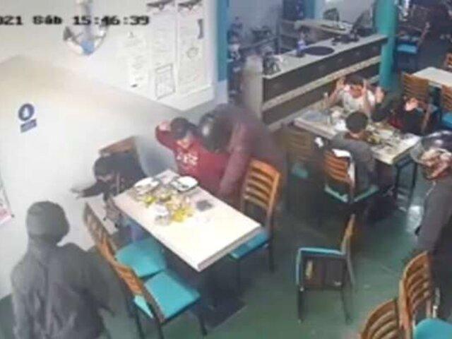 Huacho: delincuentes a bordo de una motocicleta asaltaron una cevichería
