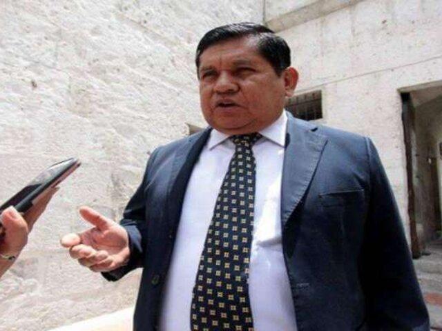 Arequipa: Vicegobernador asume gobierno regional tras detención de Cáceres Llica