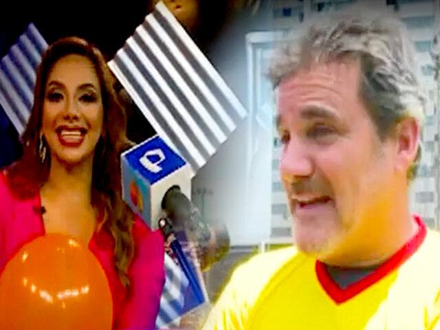 D'Mañana realiza torneo de globos con las estrellas de Panamericana Televisión
