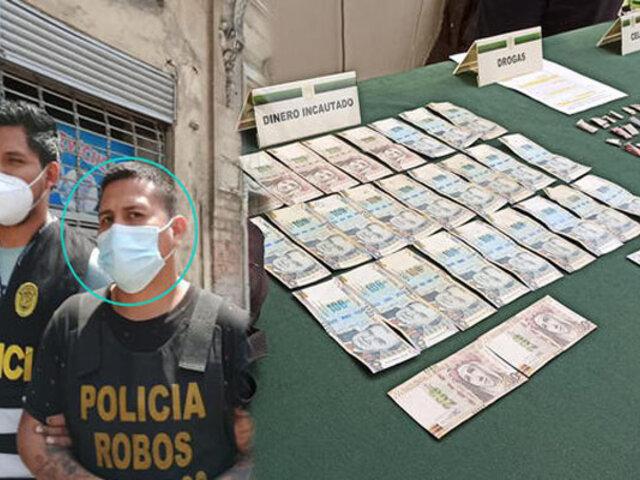 Capturan extorsionador que tenía atemorizados a comerciantes de La Victoria y Barrios Altos
