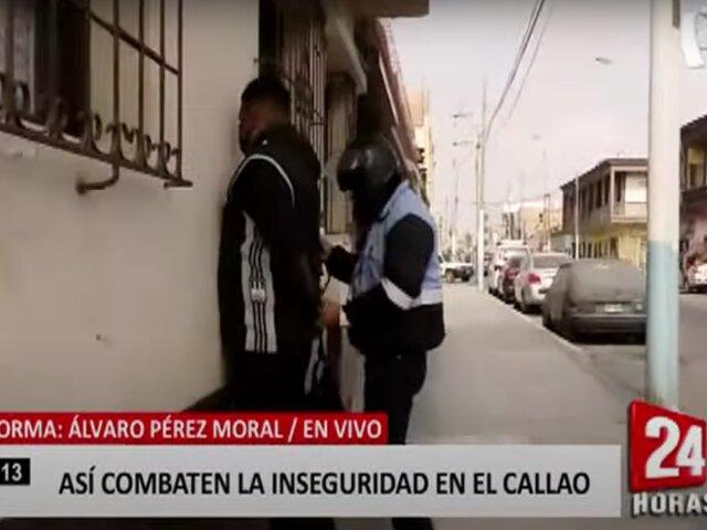 Callao: municipalidad combate ola de delincuencia