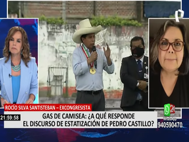 """Rocío Silva Santisteban: """"En estos momentos lo urgente es sacar adelante al Perú"""""""