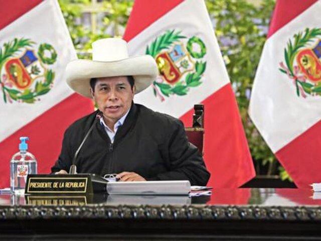 Pedro Castillo participará en el Foro Económico Mundial de Davos en 2022