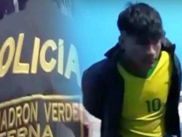PNP incauta 114 kilos de marihuana en Chiclayo