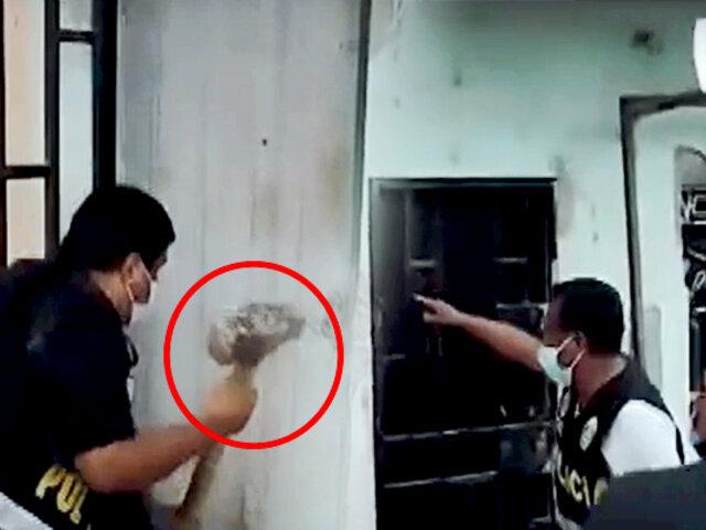 Piura: intervienen vivienda de vendedora de droga a combazos