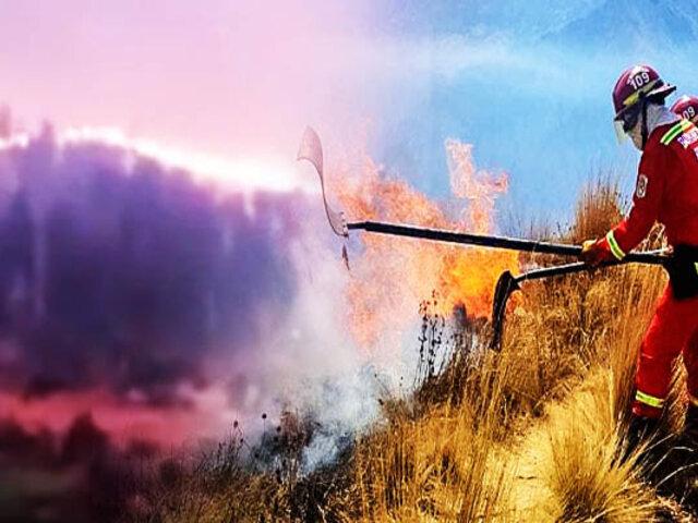 Cusco: incendio forestal en Calca fue controlado luego de varios días