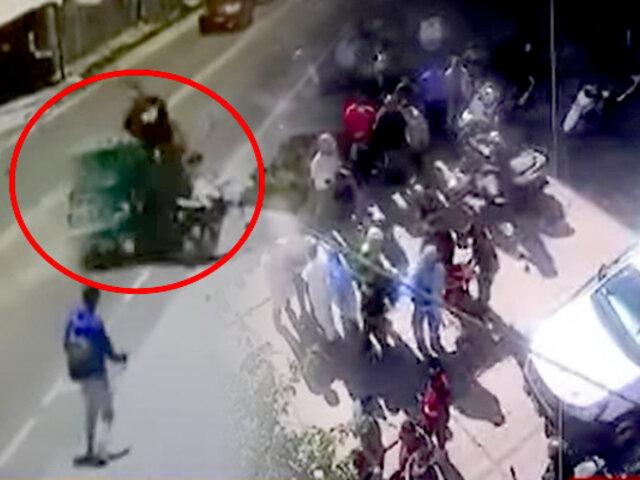 Ayacucho: reportan accidentes de tránsito protagonizados por motociclistas