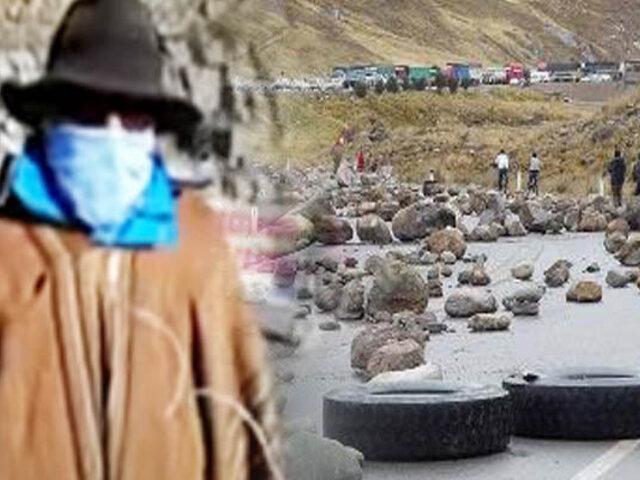 "EXCLUSIVO   Hablan manifestantes que bloquean carretera en reclamo a minera ""Antamina"""