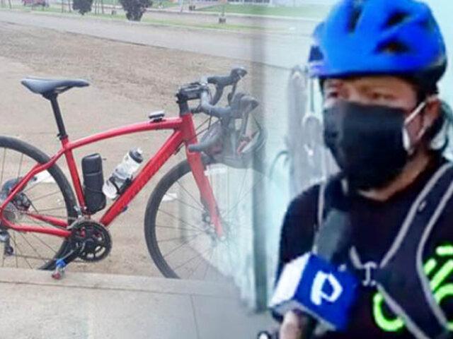 En su propio barrio roban valiosa bicicleta a un activista de Ciclismo en SMP