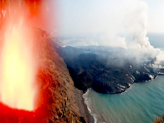 Volcán de la Palma: suelo de la isla se eleva 10 centímetros por actividad sísmica