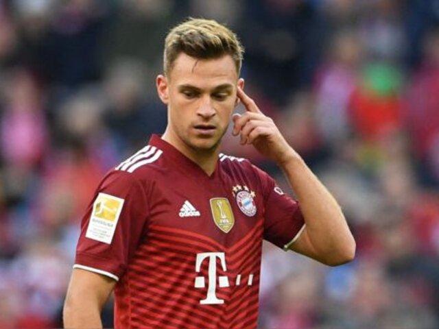 Josua Kimmich: polémica en Alemania por decisión de no vacunarse de estrella del Bayern