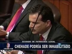 Caso Chehade: Aprueban informe que propone su inhabilitación al cargo público