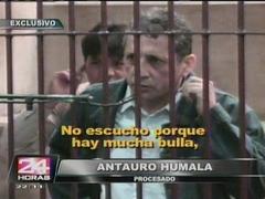 Antauro Humala regresó a los tribunales