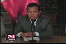 Ministro Urquizo: Gana Perú resultó fortalecido con salida de congresistas