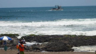 Descartan alerta de tsunami pero advierten fuertes oleajes tras sismo